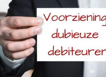 Voorziening dubieuze debiteuren